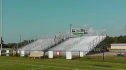 ParknPool bleachers being installed at White House Heritage High School